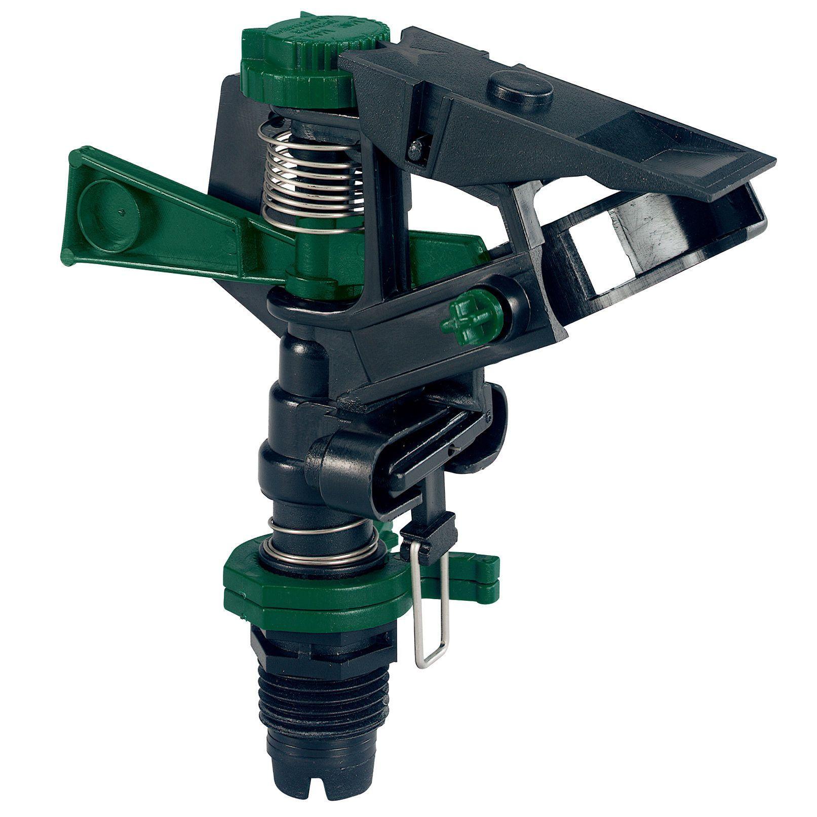 Orbit 58007N 1/2 Inch Impact Sprinkler (Impact Sprinklers), Green (Plastic)