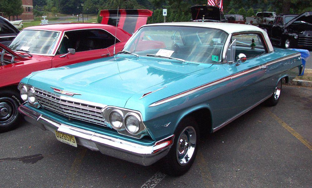 1962 Chevrolet Impala Hardtop Blue W White Top Chevrolet Impala Chevy Impala Chevrolet