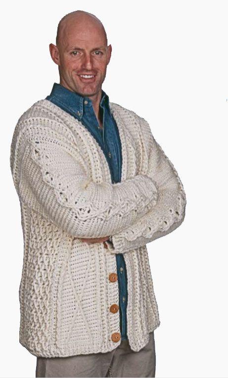 Free crochet pattern: To Aran Is Human by Drew Emborsky, aka The ...