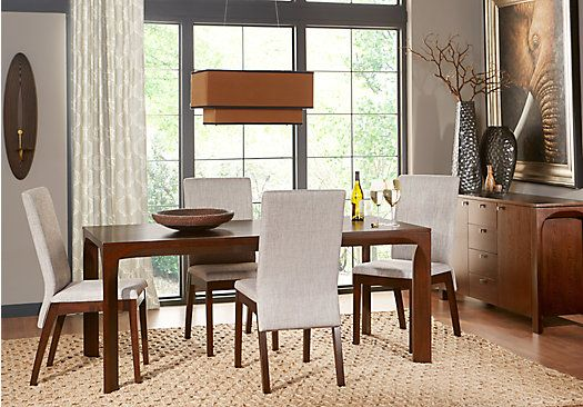 Shop for a Devlin 5 Pc Dining Room at Rooms To Go. Find Dining Room Sets that will look great in your home and complement the rest of your furniture.