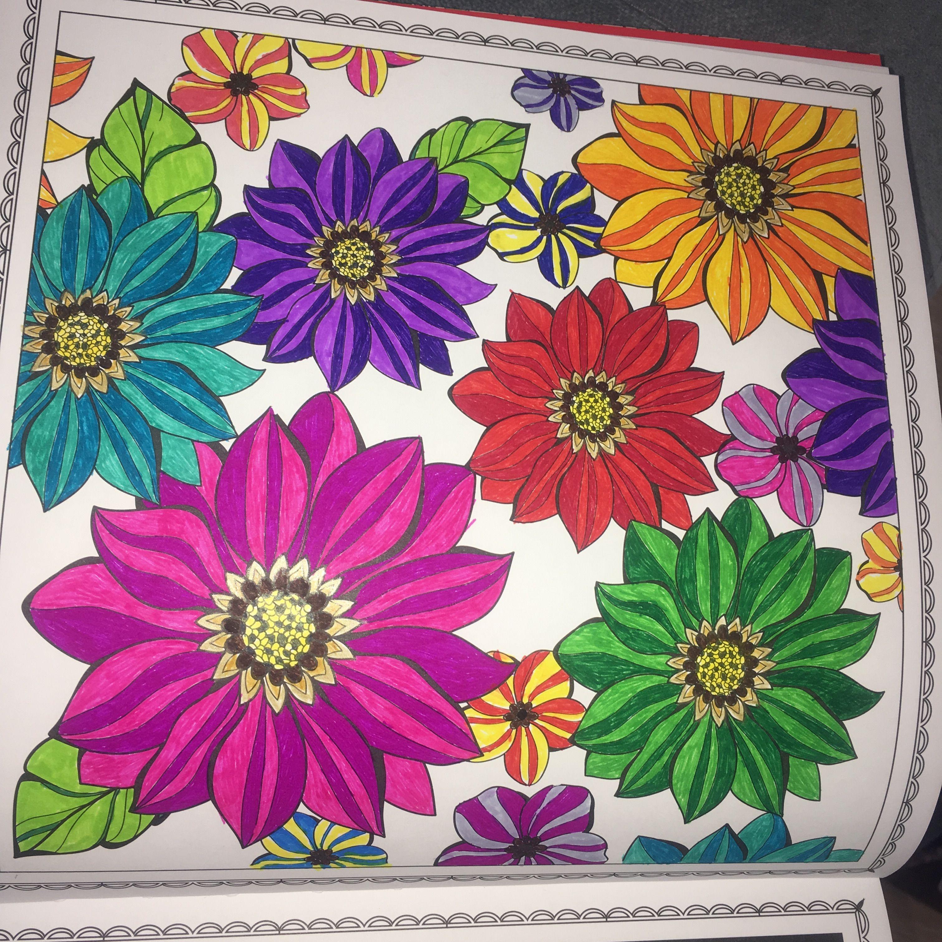 Kreative auszeit stabilo mandala art flower | Mandala | Pinterest ...