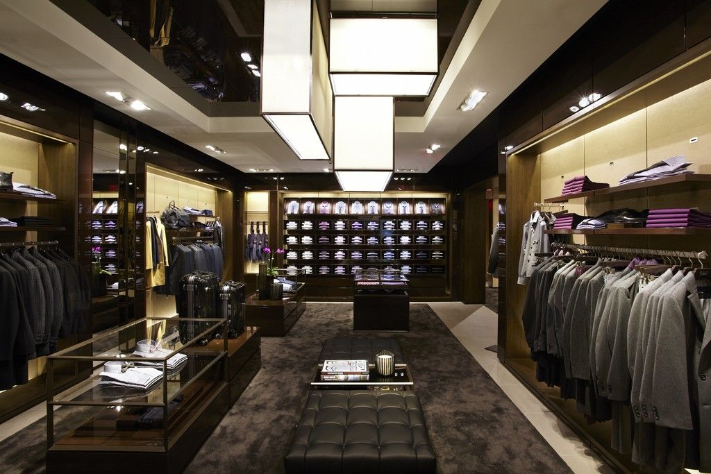 Hugo Boss New Store Design Debuts Slideshow Clothing Store Interior Store Interiors Store Design