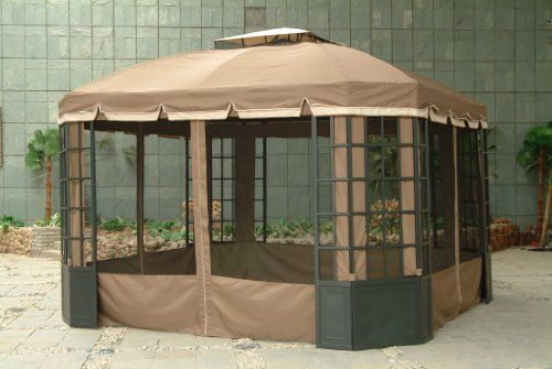 Cheap Sears L Gz120pst 3 Replacement Canopy Netting Set Only Cheap Gazebo Gazebo Cheap Patio Furniture