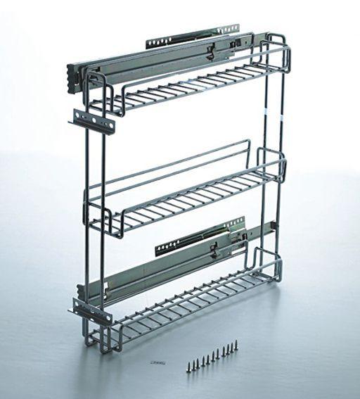 kitchen cabinet spice rack slide - Google Search | Master Bath ...
