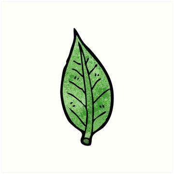 Cartoon Leaf Sticker By Linear Testpilot Cartoon Leaf Leaf Drawing Cute Animal Drawings
