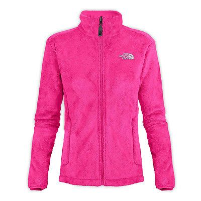 North Face Osito Womens Aahy-h0e Azalea Pink Raschel Silken Fleece ...