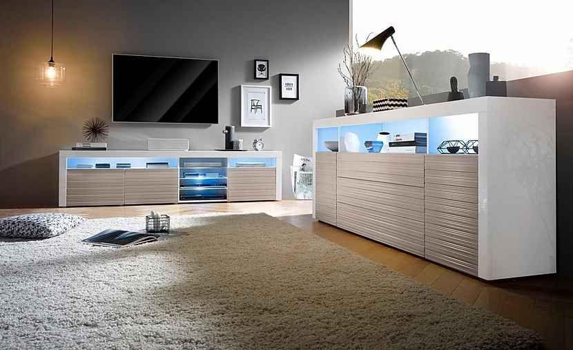 borchardt Möbel Lowboard, Breite 200 cm, Maße (BTH): 200