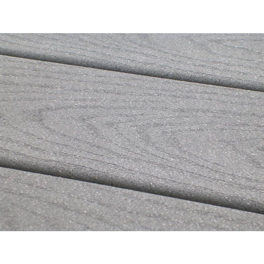 Trex 1 In X 6 In X 12 Ft Pebble Grey Select Composite Decking Composite Decking Building A Deck Diy Deck