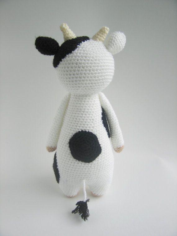 Cow Crochet Amigurumi Pattern en 2018 | Estilo | Pinterest | Vaca ...