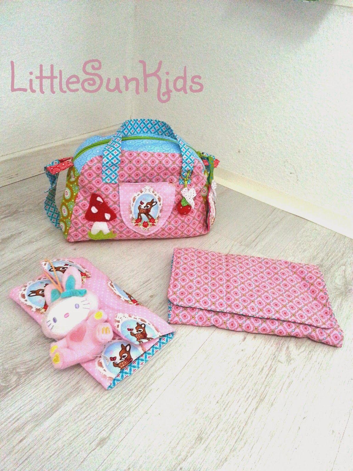♥ LittleSunKids ♥: Puppen Wickeltasche mit allem drum und dran ...