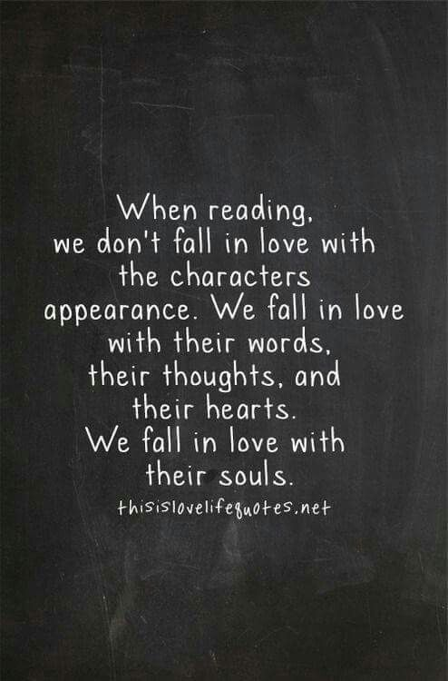 When reading.....