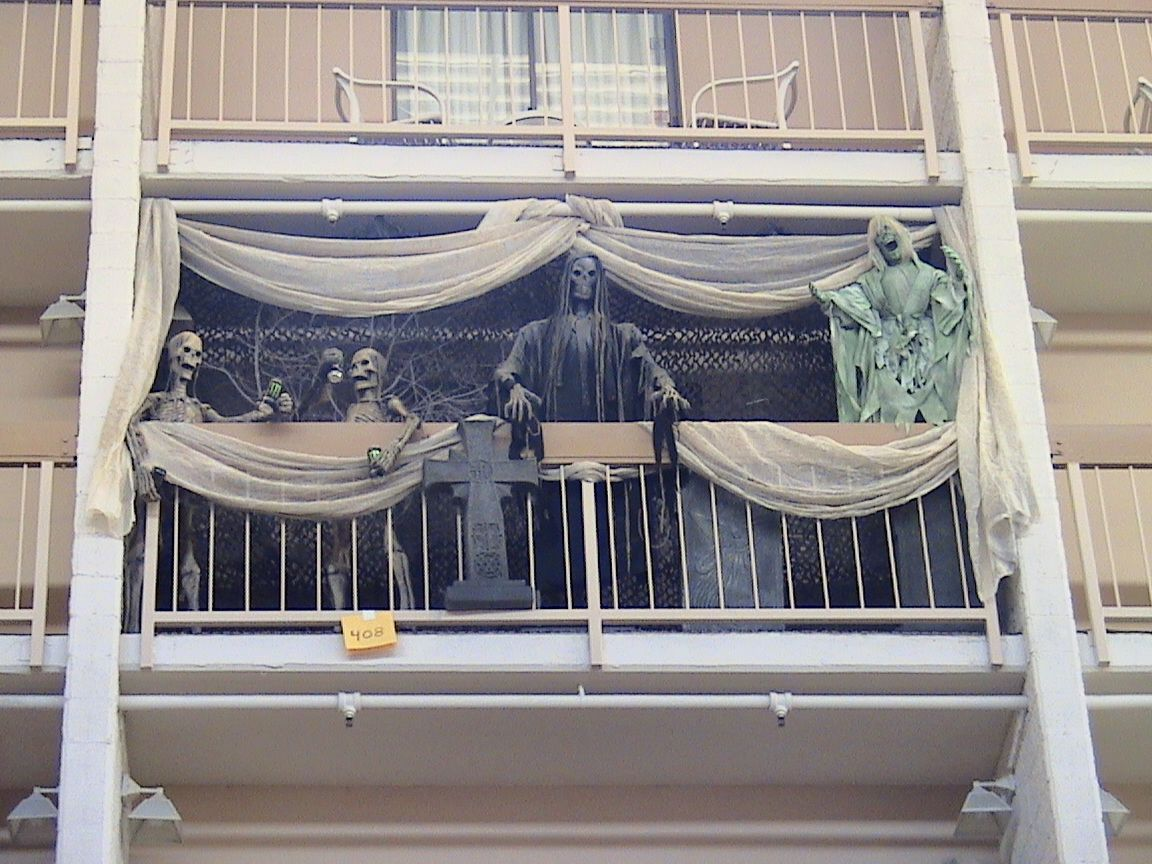 image result for best halloween ideas for an apartment balcony