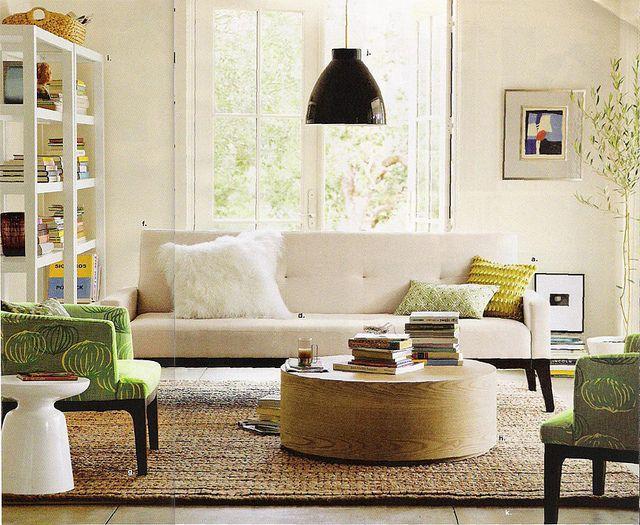 West Elm's New look - living Room | West elm living room ...