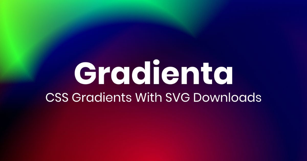 Use pure CSS gradient backgrounds for your next website or