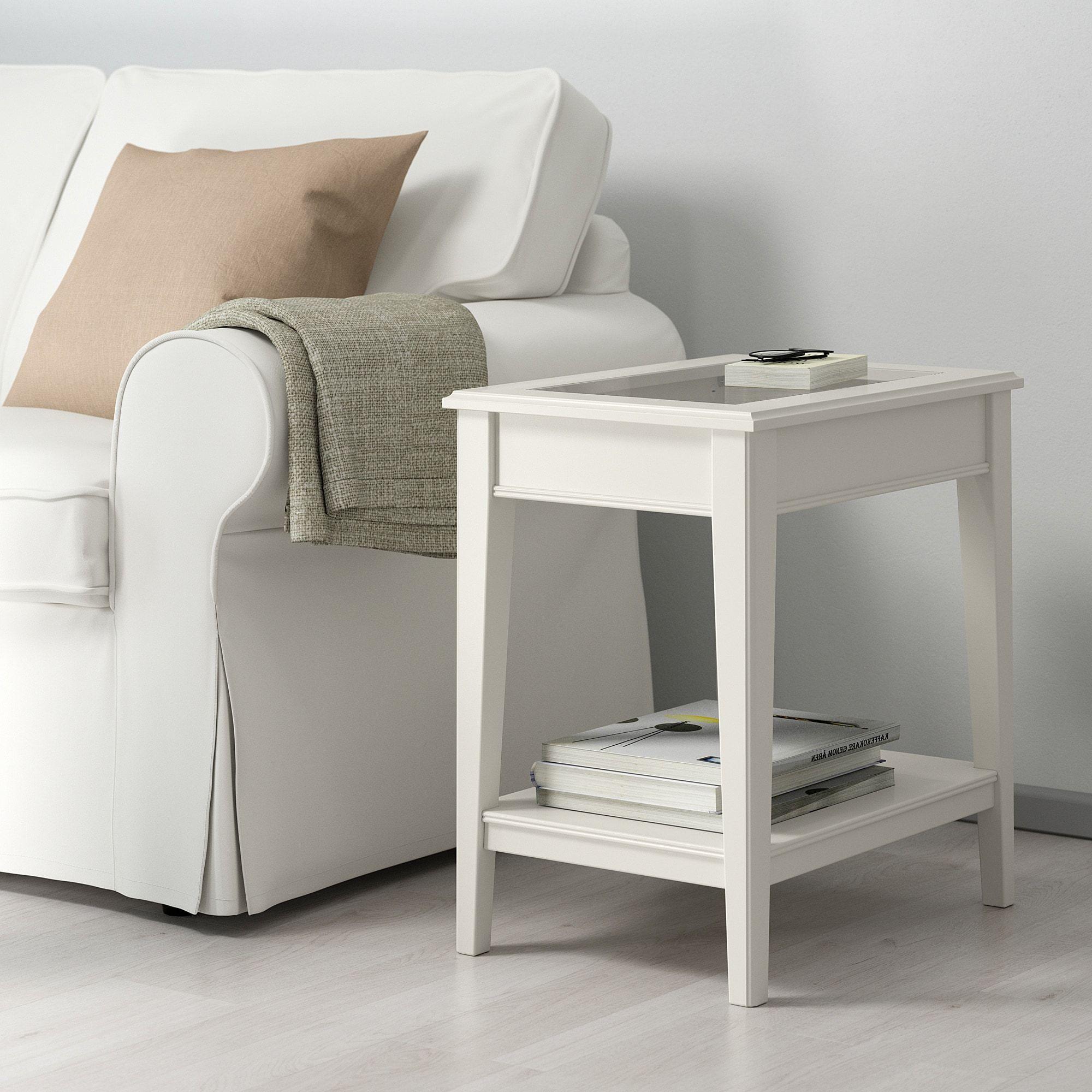Liatorp White Glass Side Table 57x40 Cm Ikea Ikea Side Table White Side Tables Liatorp [ 2000 x 2000 Pixel ]