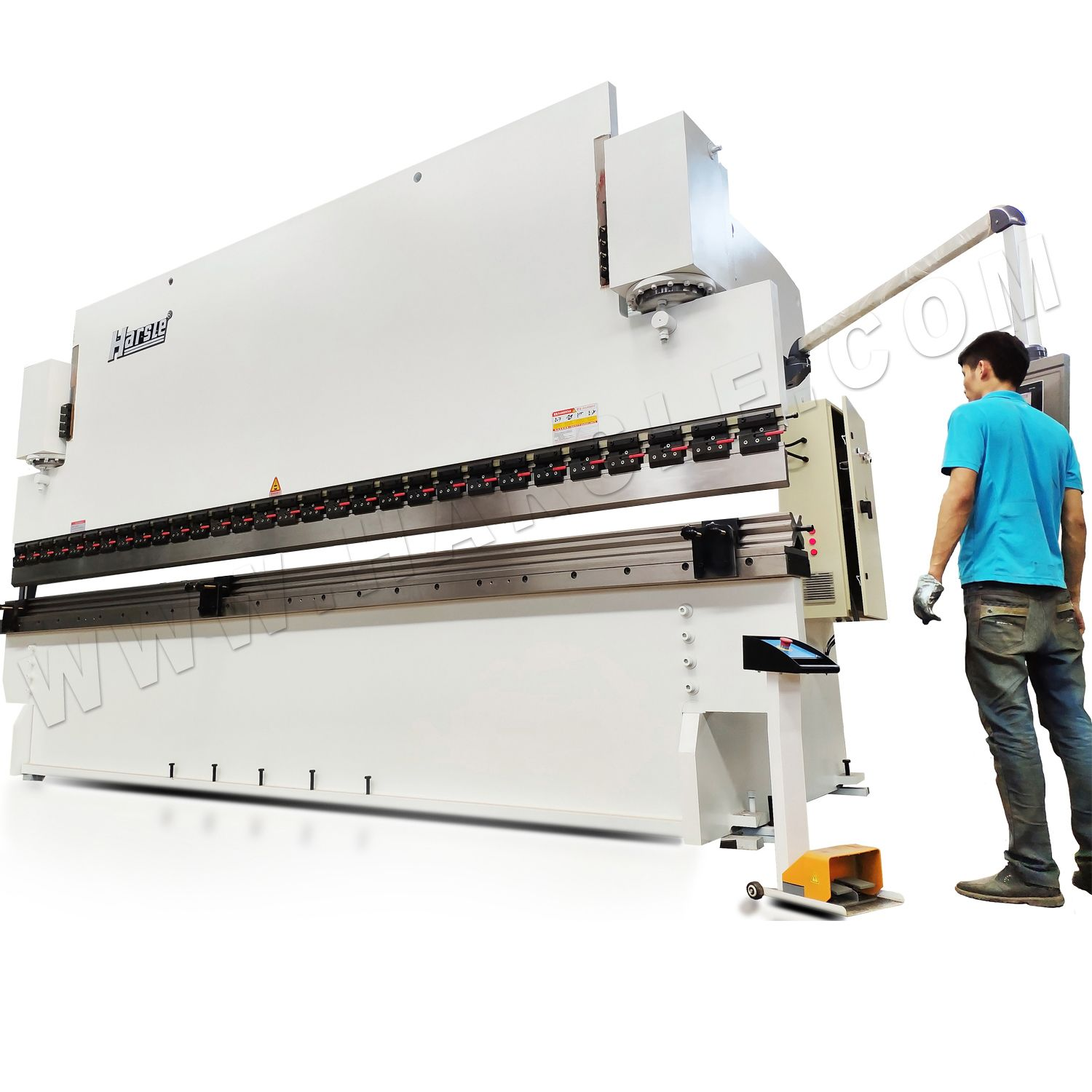 2019 的 WC67K-300T/4000 press brake tooling with DA-41S, CNC