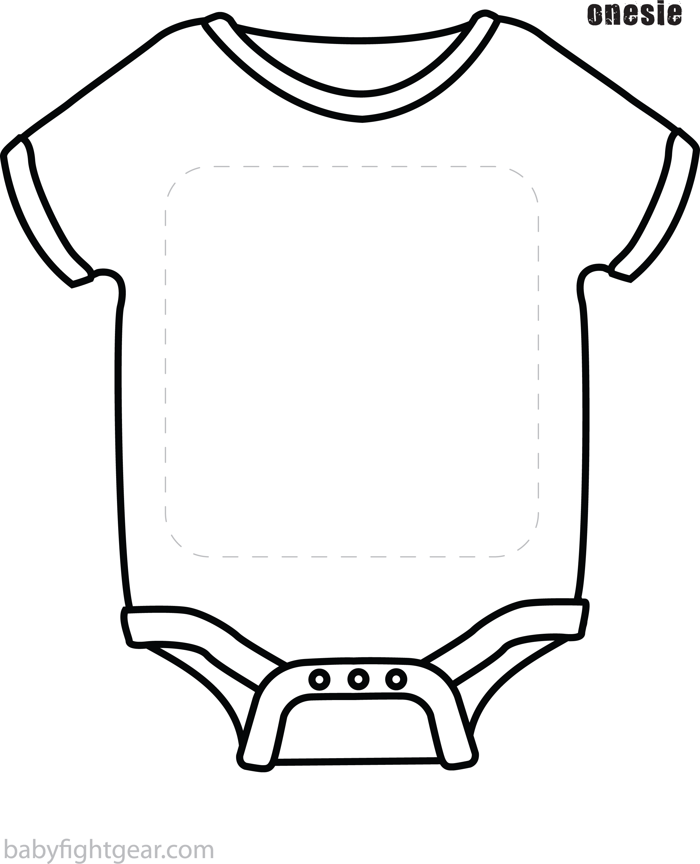 View Full Size Baby Onesie Template Png Clipart And Download Transparent Clipart For Free Like It And Pin It Baby Onesie Template Baby Clip Art Baby Onesies