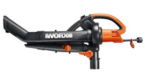 Worx Electric Trivac Er Mulcher Vacuum Provides Vital Modifications To The Bag And Nozzle Design That Can Allow Fast Efficient Function