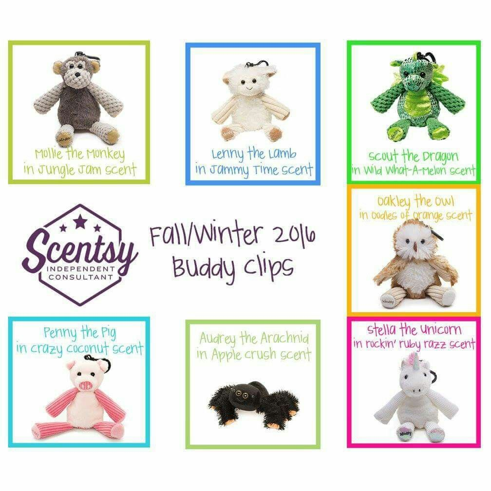 Buddy Clips juliecooney.scentsy.ca