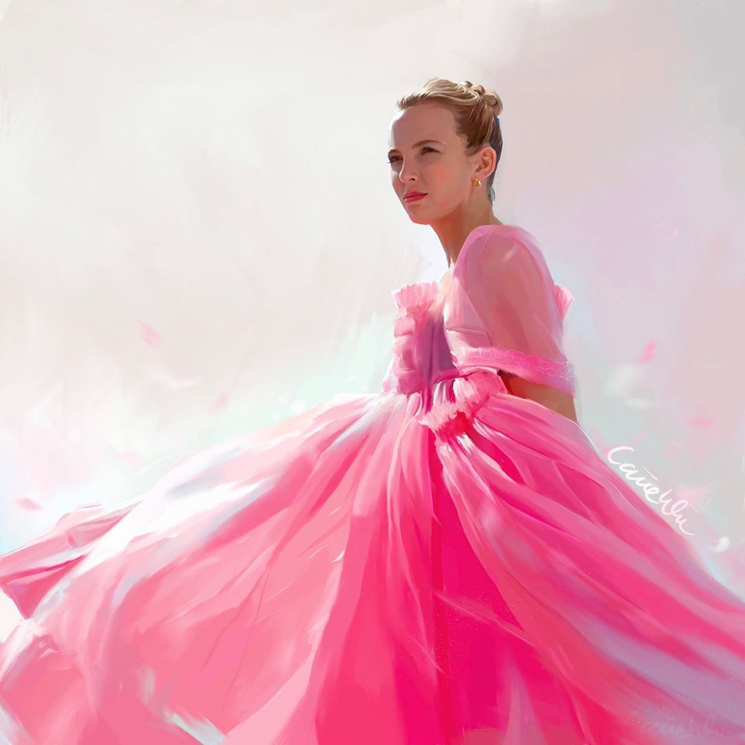 Carrie On Instagram Villanelle S Iconic Pink Tulle Dress Killingeve Jodiemcomer Mollygoddard Killingeve Villanell Pink Tulle Dress Tulle Dress Dresses [ 1080 x 1080 Pixel ]