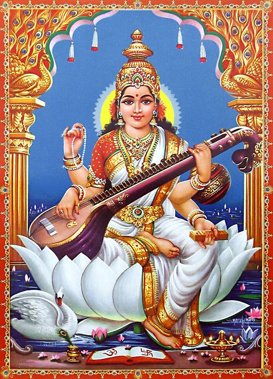 goddess saraswathi saraswati sanskrit ������������