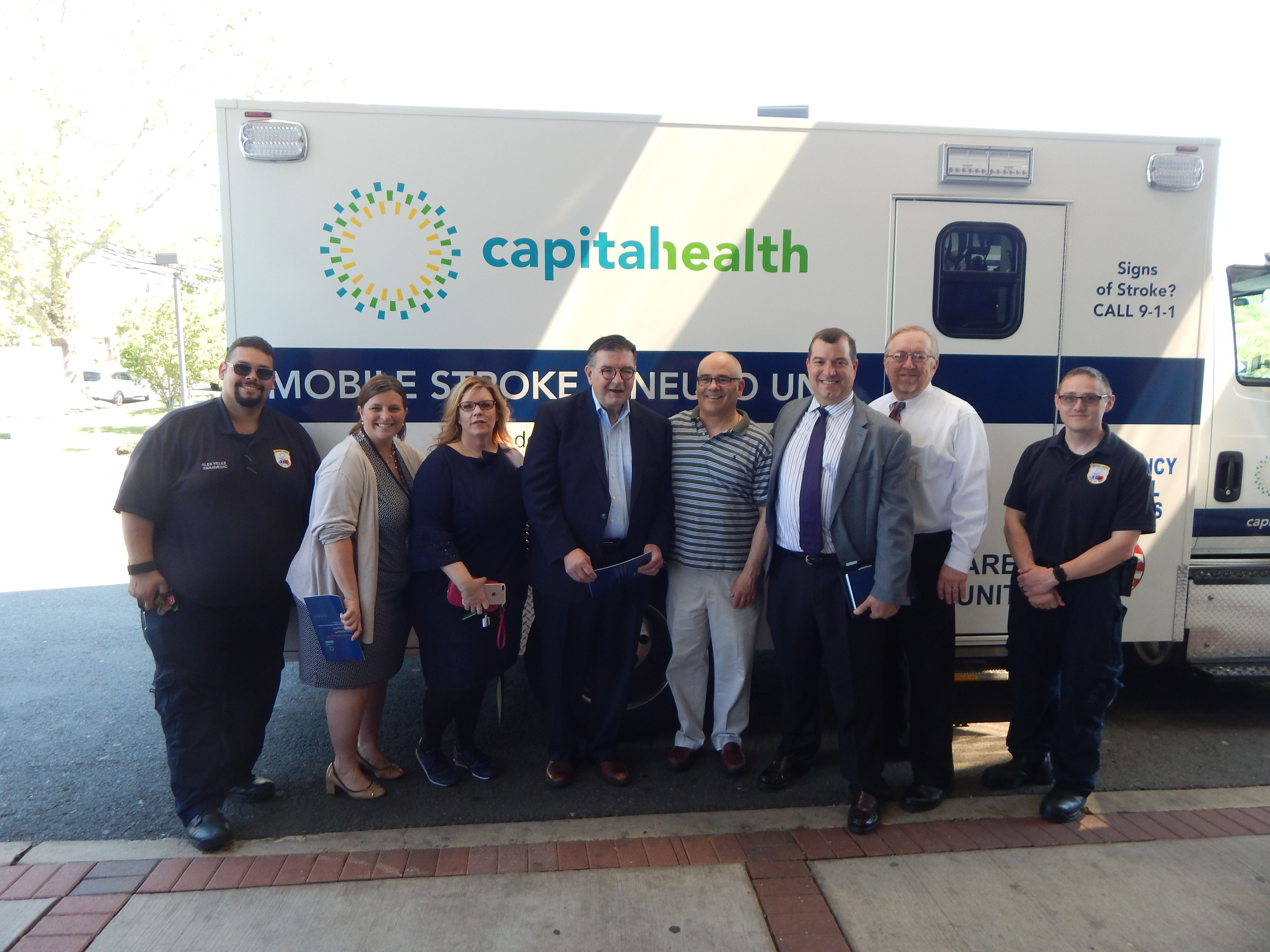 We Were Pleased To Welcome New Jersey State Assemblyman Reed Gusciora D 15 And Mercer County Executive Emergency Department Regional Medical Center The Unit