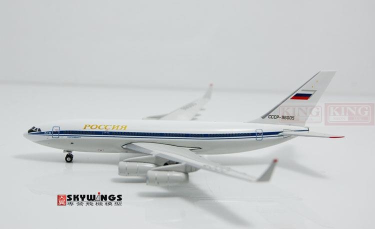 94.06$  Buy now - http://aliffp.worldwells.pw/go.php?t=32598111645 - Phoenix 10744 Russian aviation CCCP-96005 IL-96-300 gold commercial jetliners plane model hobby 94.06$
