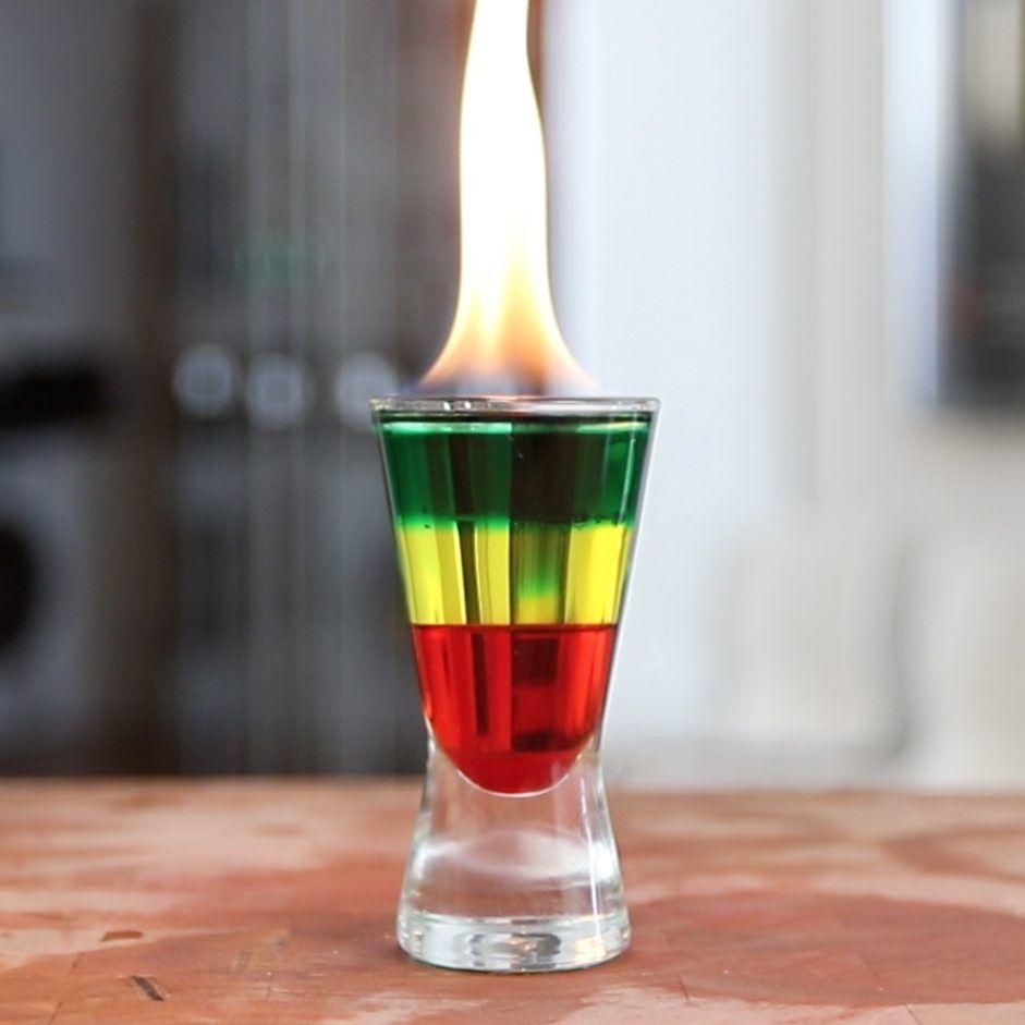 Flaming Bob Marley Shot