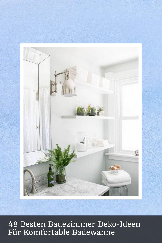 48 Besten Badezimmer Deko Ideen Fur Komfortable Badewanne With