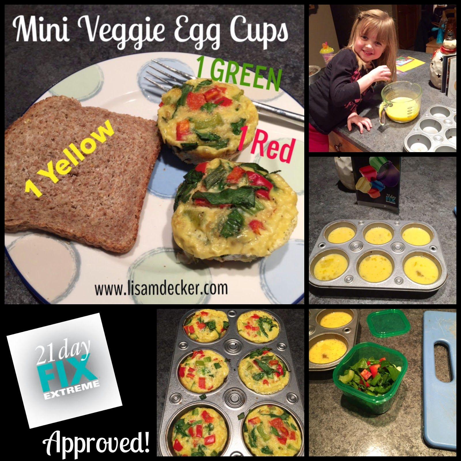 Mini Veggies Egg Cups Egg White Muffins Healthy