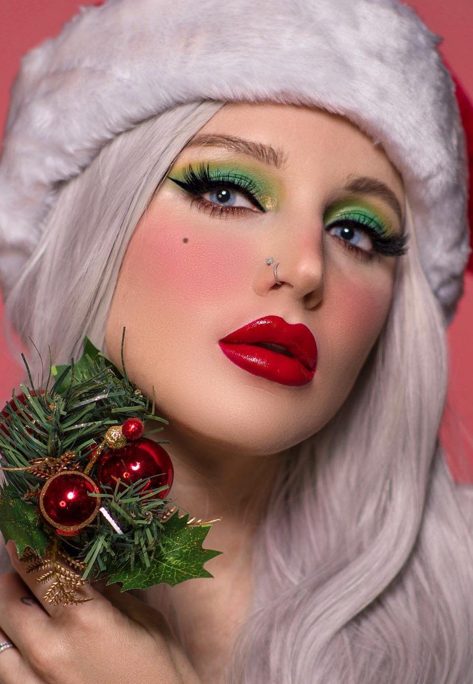 Fast makeup for the Christmas party! How To, New 2019