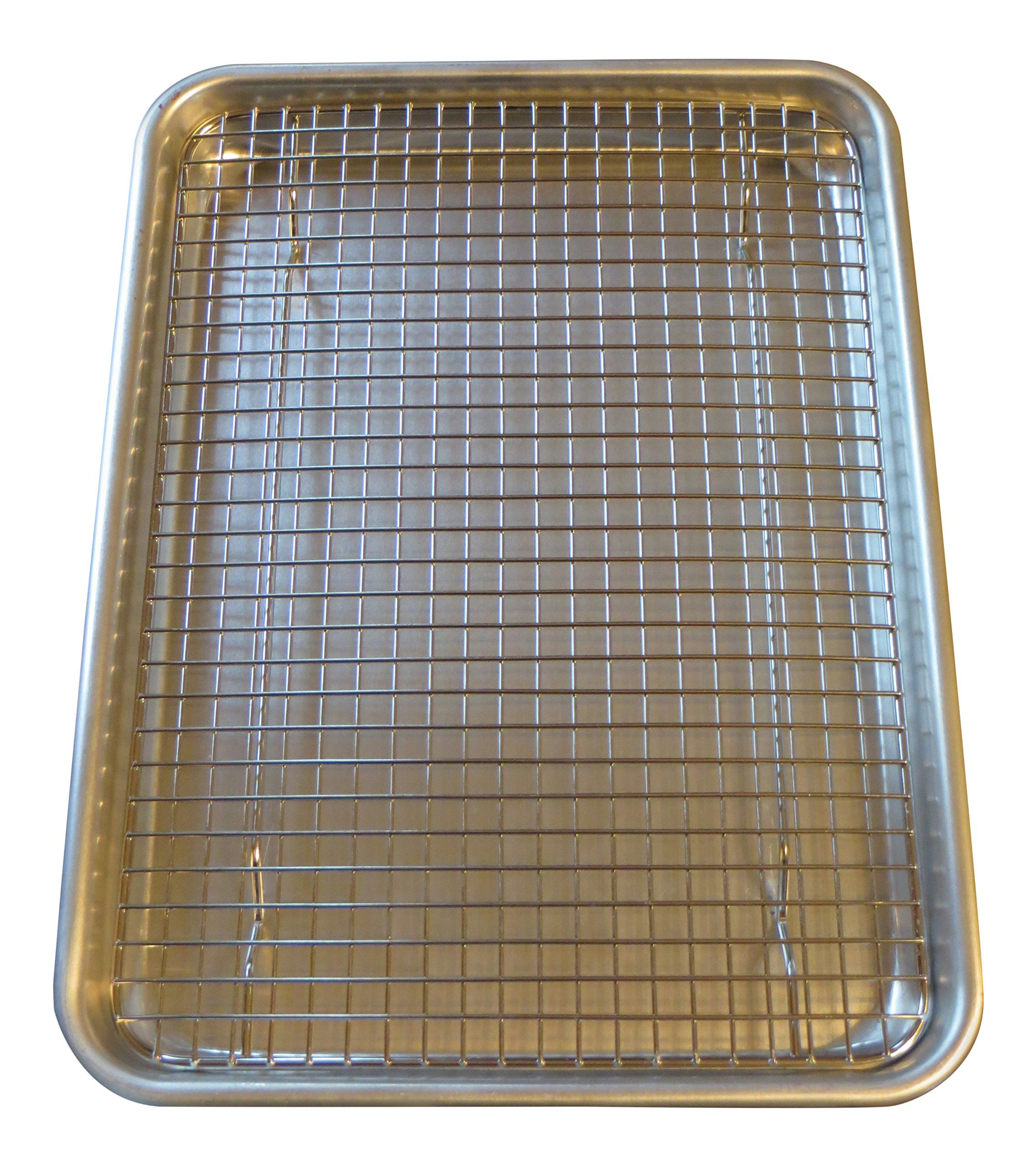 Stainless Steel Cooling Rack 8 5 Inches X 12 Inches Heavy Duty