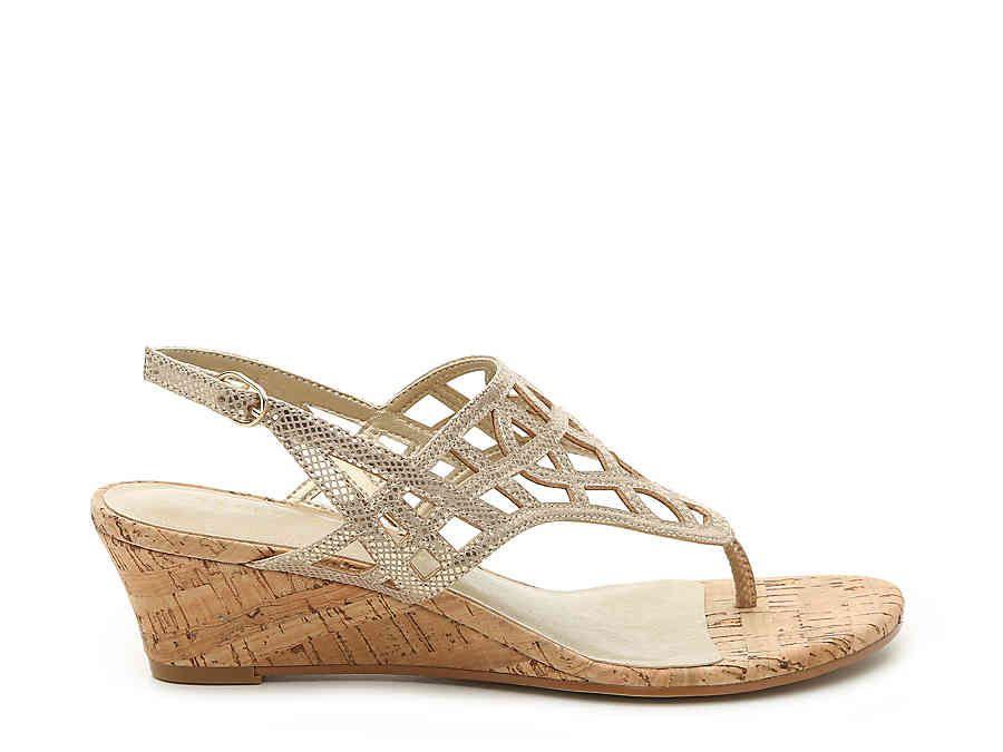 8f6cee6039 Kelly & Katie Analissa Wedge Sandal Women's Shoes | DSW | Sexy ...