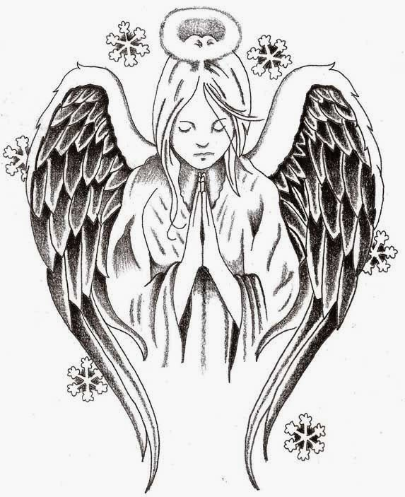 Tattoos Book 2510 Free Printable Tattoo Stencils Angels