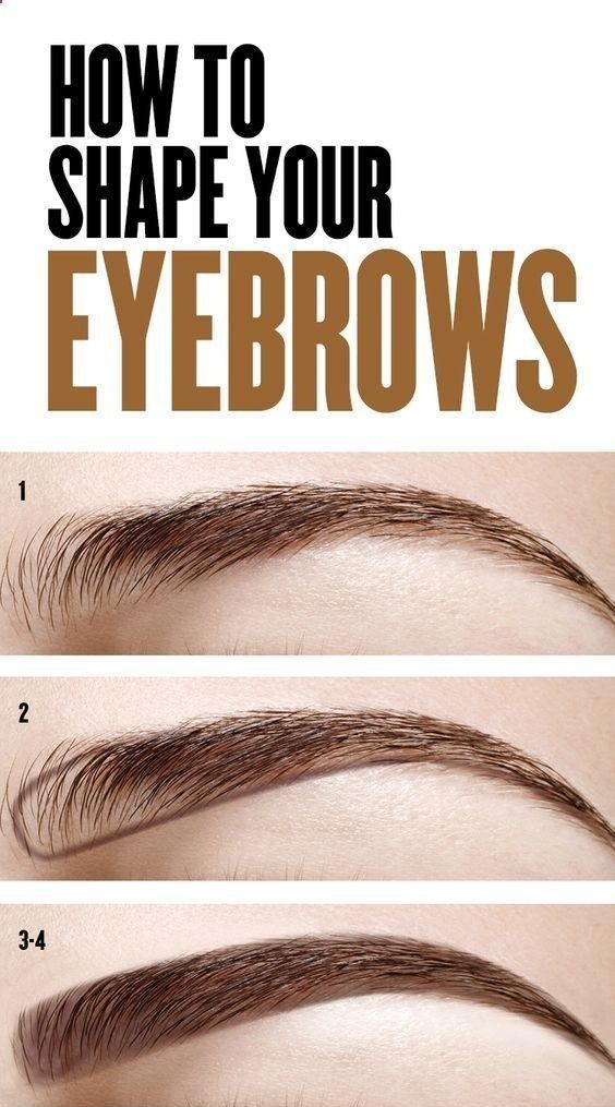 How to Shape Your Eyebrows? - My Favorite Things #naturaleyebrows