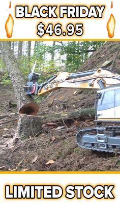 Monster RC™ Hydraulic Remote Control Excavator