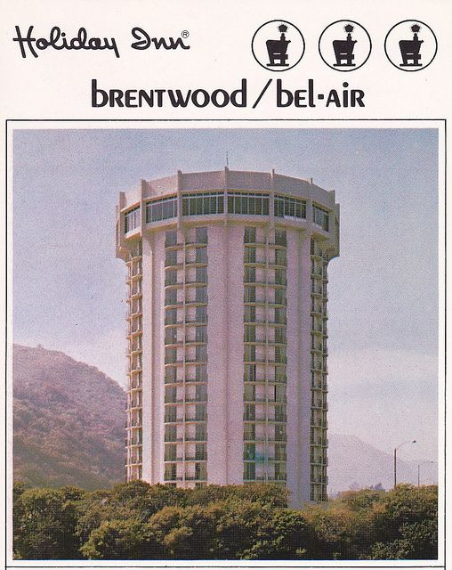 Holiday Inn Brentwood Bel Air Postcard Brentwood Los Angeles