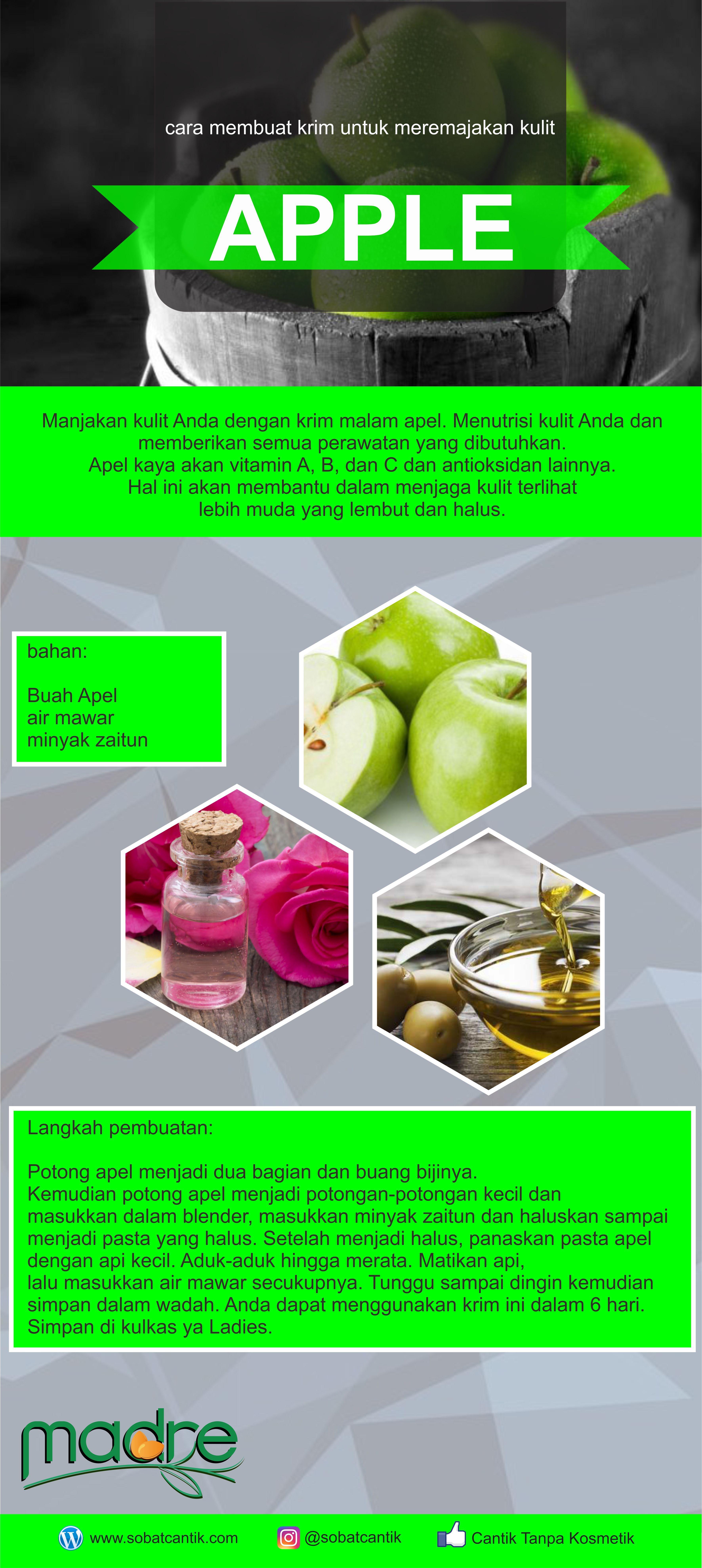 Manfaat Buah Apel Untuk Jerawat