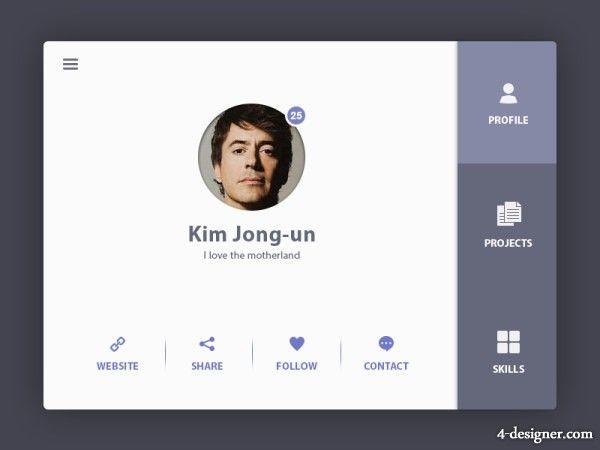 user profile pic change ui - Google Search | Web UI Designs