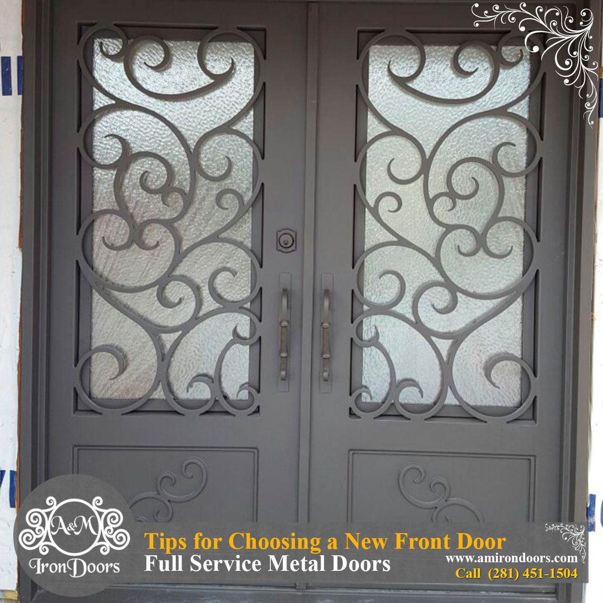 Tips For Choosing A New Front Door Https Goo Gl N7h65r Wrought Iron