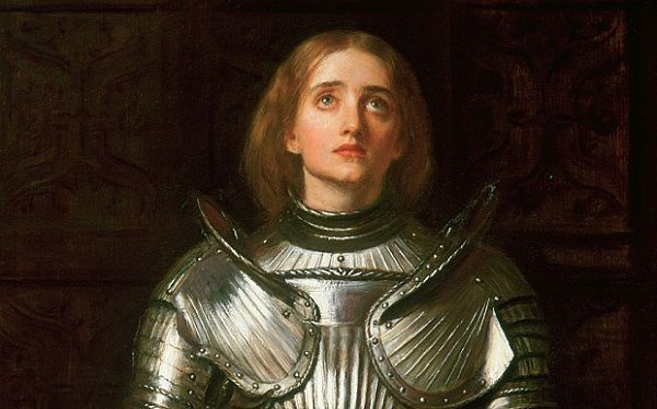 joan of arc a saint a soldier a woman essay Joan of arc (fr: jeanne d'arc), a french historical figure executed by the english for heresy in 1431, is a national heroine of france and a roman catholic saint joan accompanied an army during the hundred years war, adopting the clothing of a soldier, which ultimately provided a pretense for her conviction and execution.