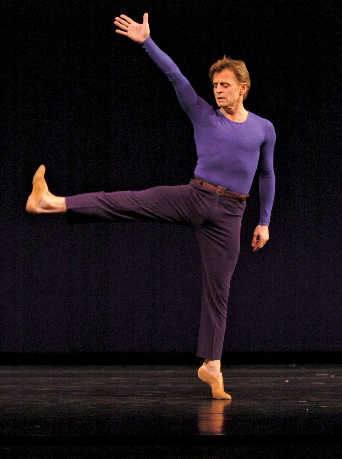 Mikhail baryshnikov   AMAZING male dancer  He hit 26