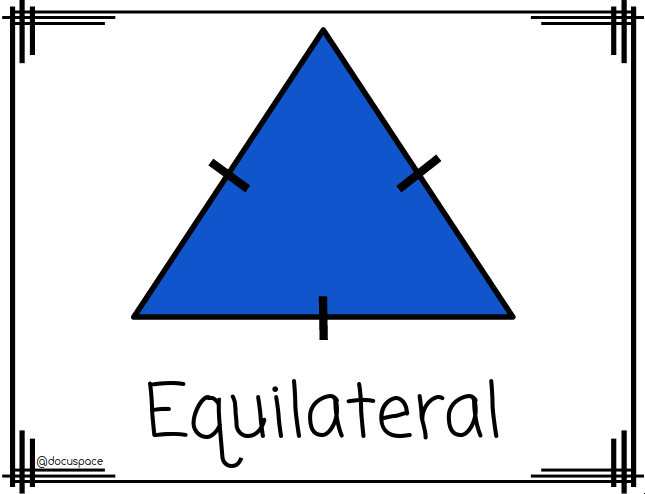 Properties Of Triangles Equilateral Triangles Posters Properties Of Triangle Educational Resources Education