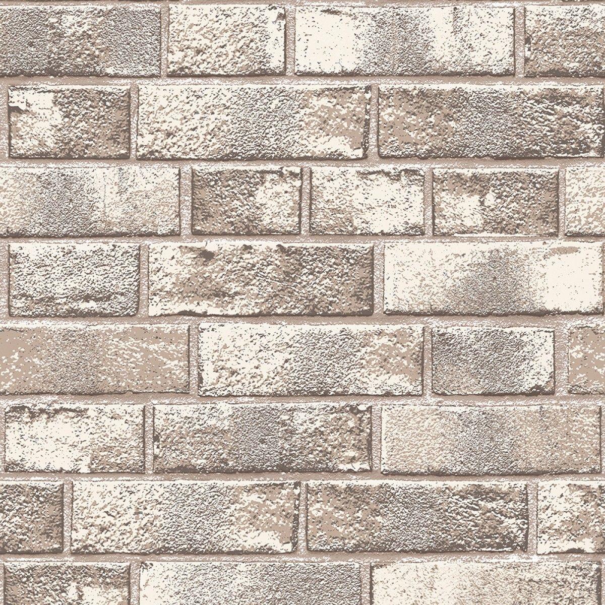 BRICK (BR526S) - SAMPLE | Textured brick wallpaper, Self ...