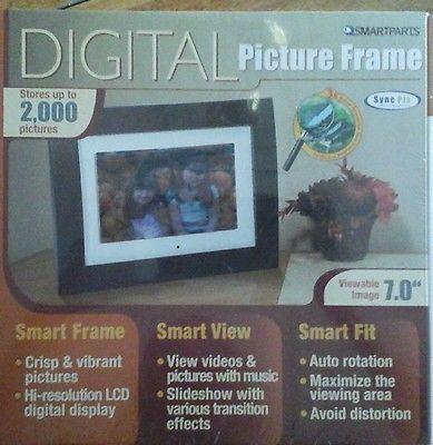 Smartparts Syncpix Spx7e 7 Digital Picture Frame Pinterest