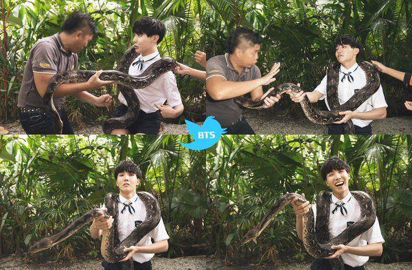 I hate snakeu ㅋㅋㅋ