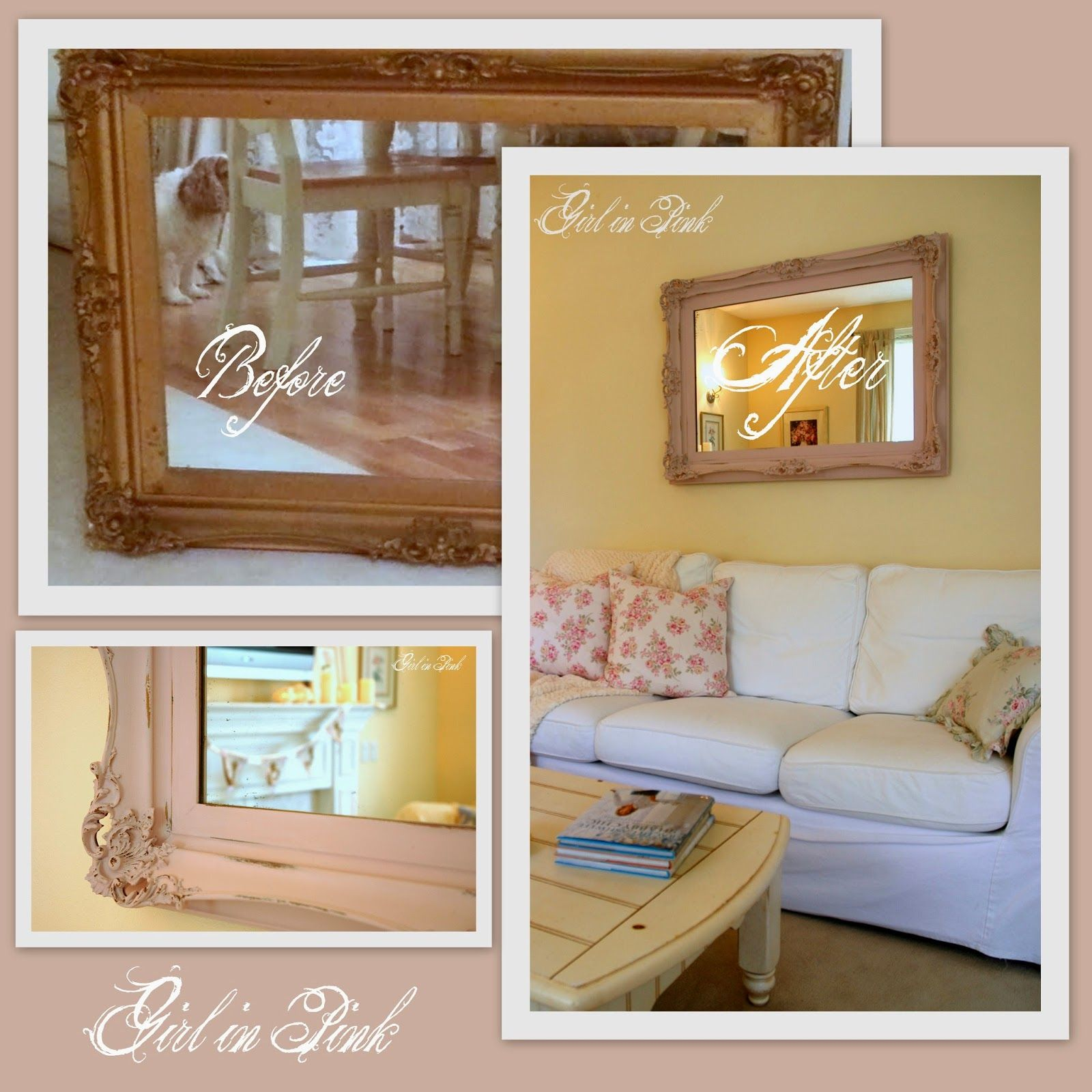 Girl In Pink Search Results For Mirror Frame