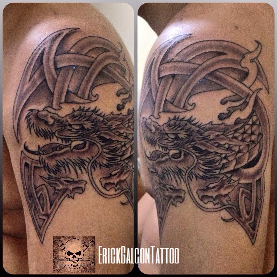 Scottish Dragon Tattoos: Celtic Dragon Tattoo