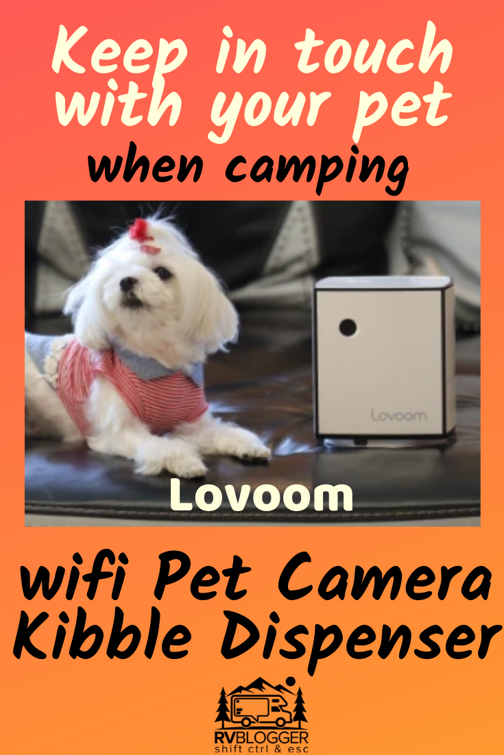 Keep in touch with your family pet with this allinone