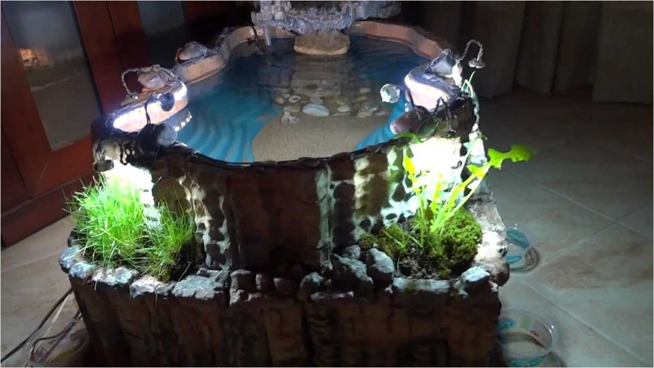 43 Fresh Stunning Indoor Fish Ponds With Waterfall Ideas Indoor